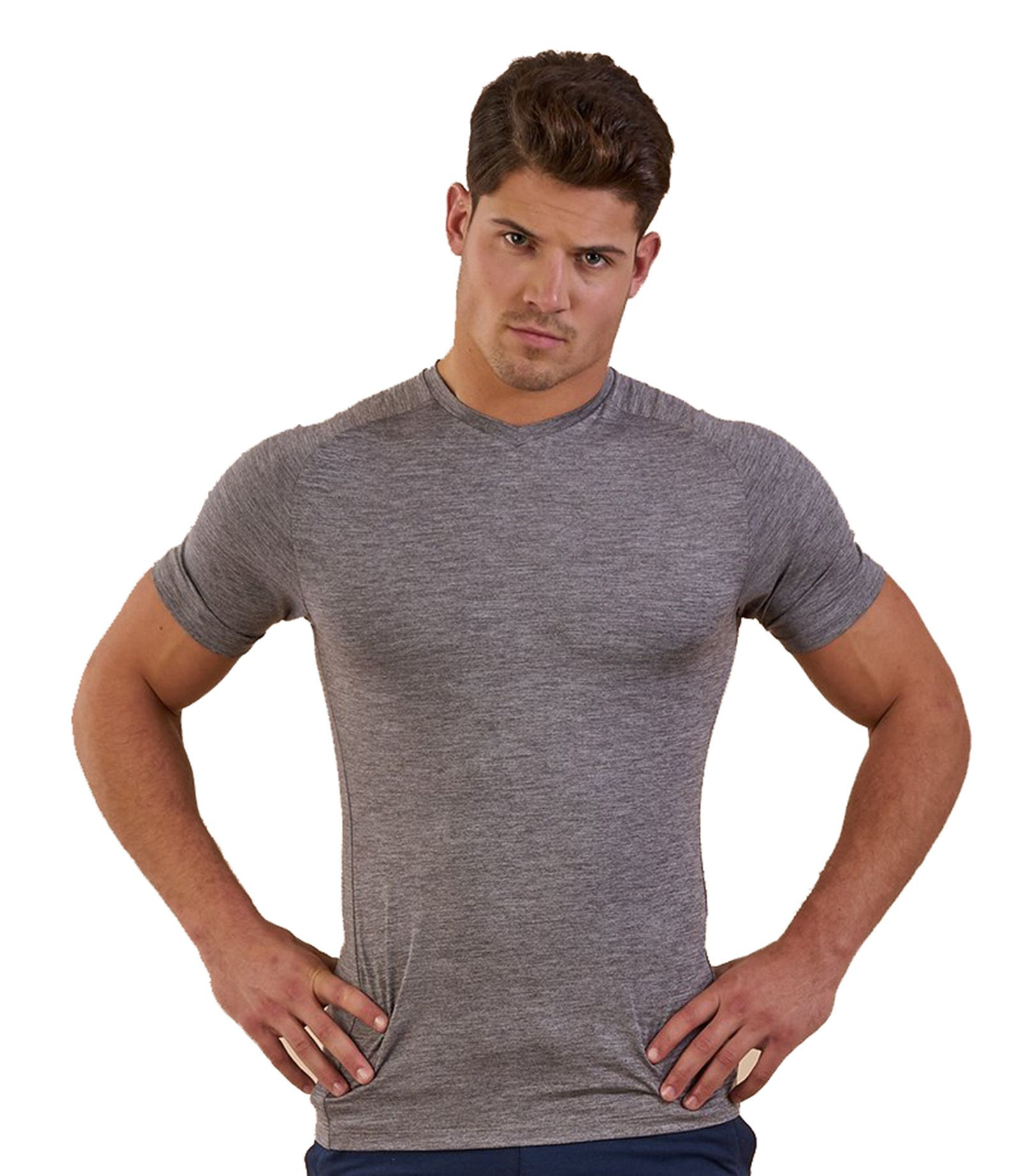 Zesteez Men Stretchable Premium Quality Light Weight Moisture Wiking Tshirt