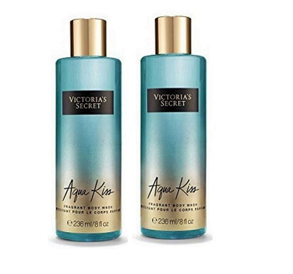 1ef93dbb84991 Victoria's Secret Body Wash Aqua Kiss Moisturizing Bath Kit