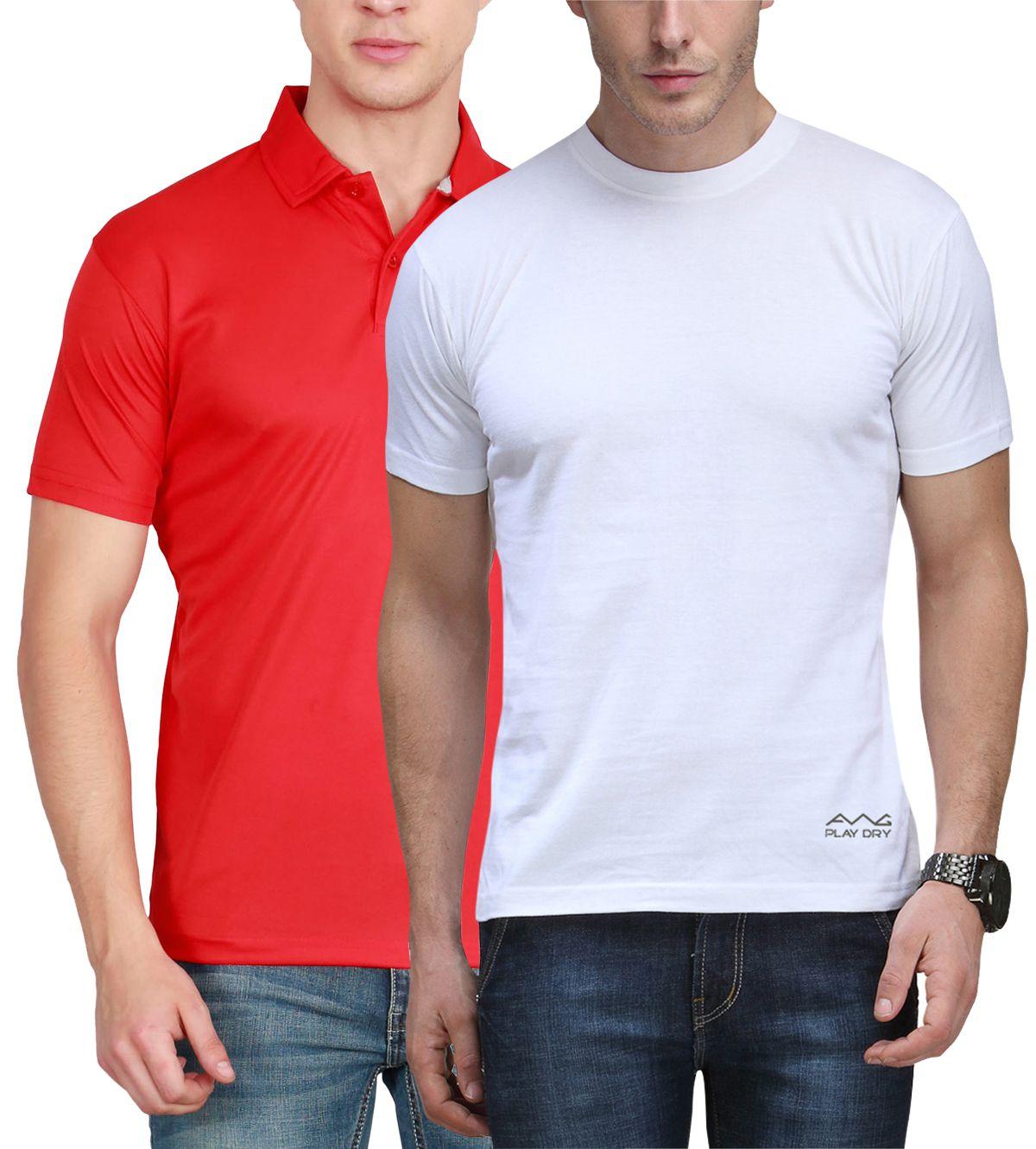 Scott International Multi Round T-Shirt Pack of 2