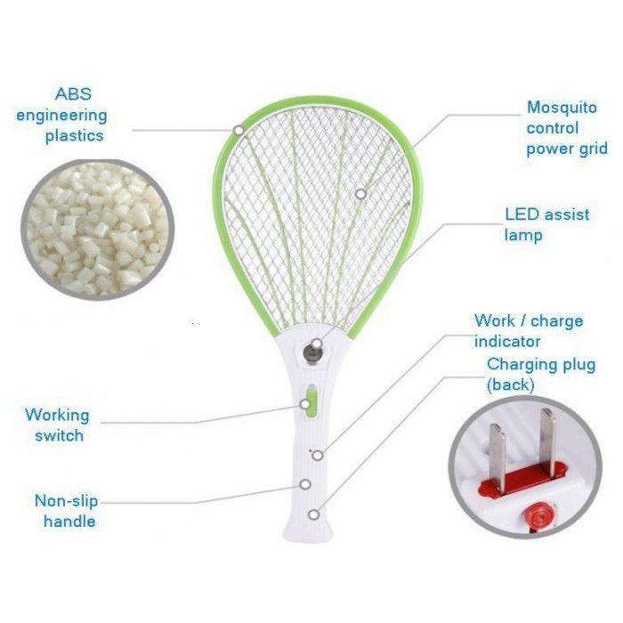 Edos Plastic Mosquito Killer Batracket With Led Light Buy Edos