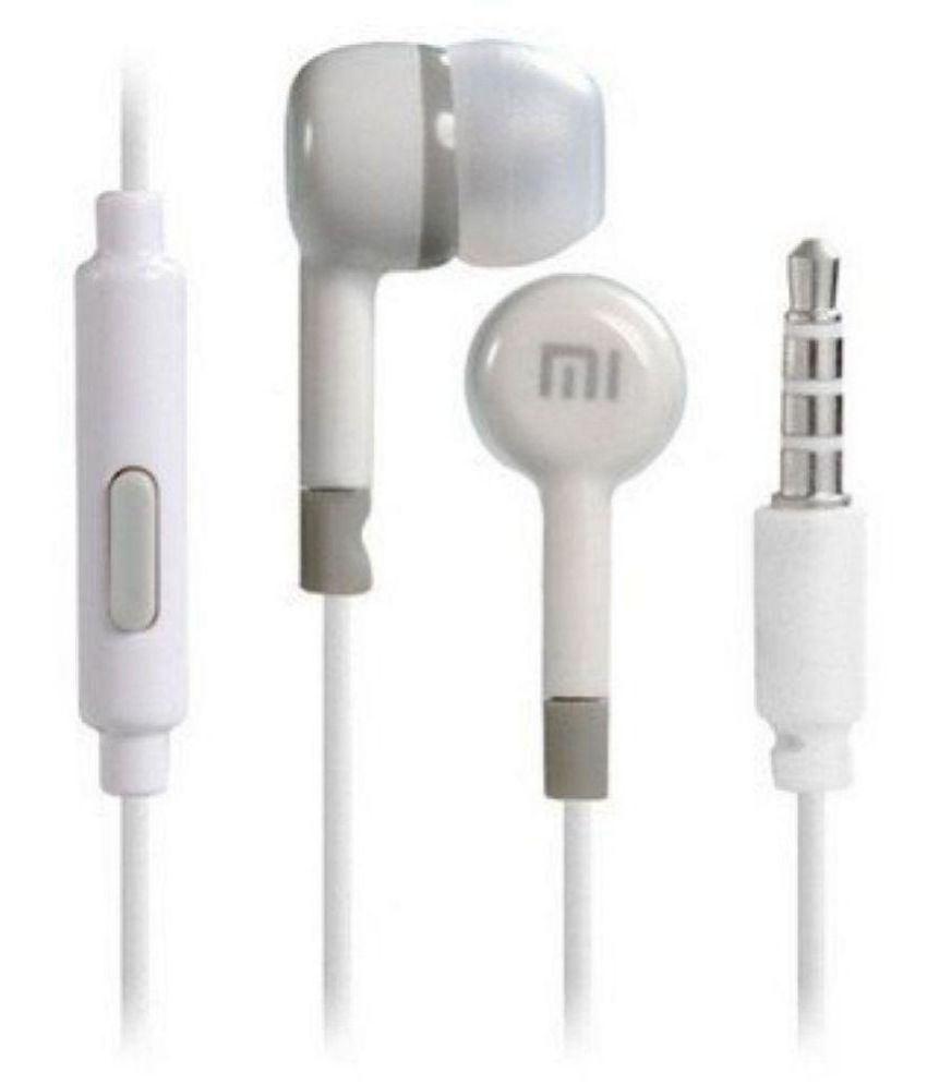 Xiaomi Xiaomi Redmi 4 In Ear Wired Earphones With Mic