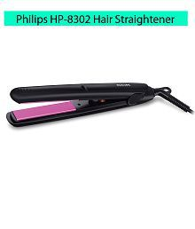 Philips HP8302 Essential Selfie Straightener (Black)