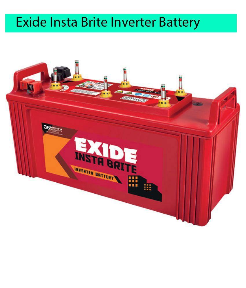 Exide 150 INSTA BRITE Ah Battery