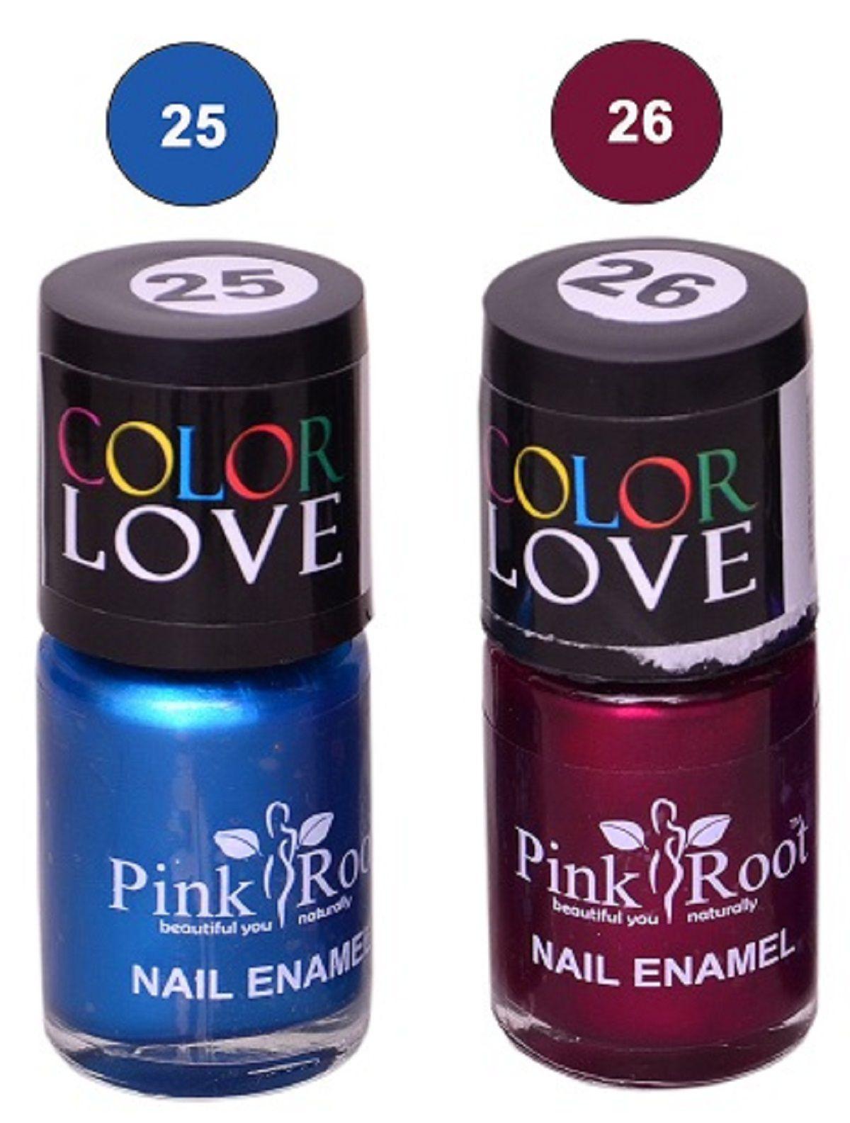 PINK ROOT Nail Polish Multicolour Glossy 15 ML gm at Snapdeal at ...