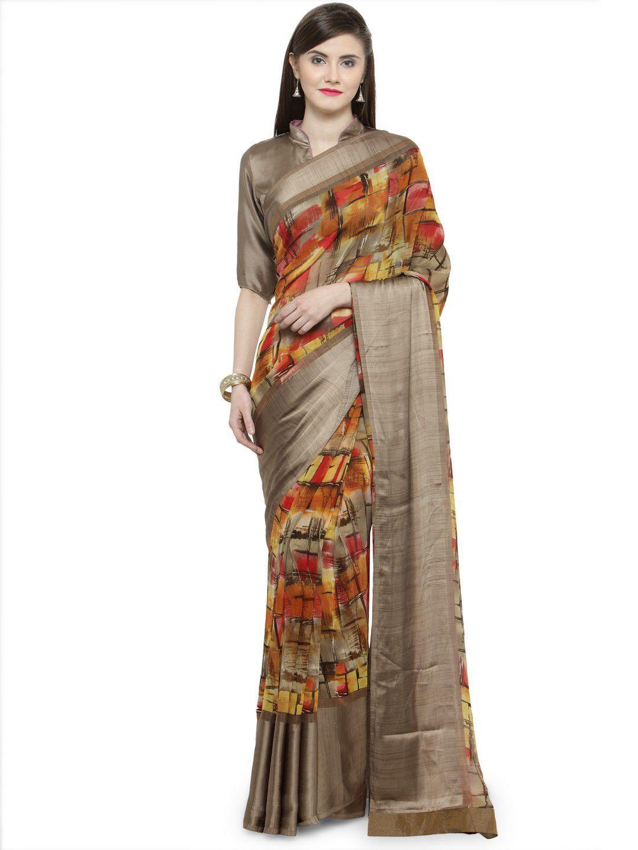 Shaily Multicoloured Silk Saree