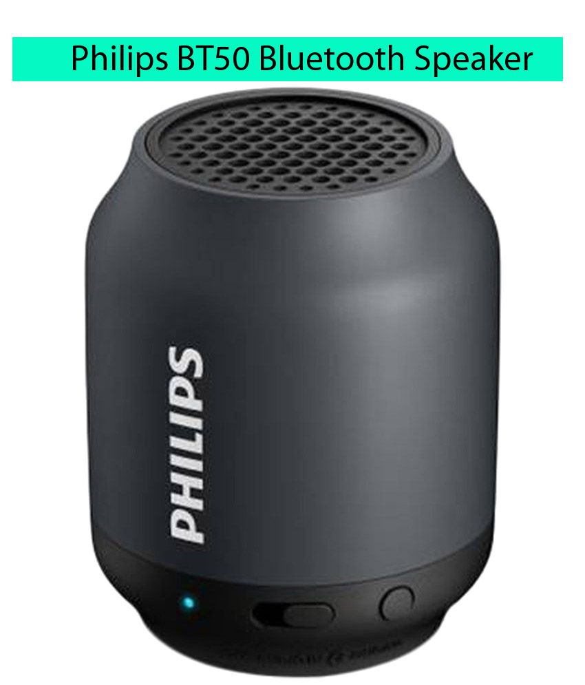 Philips Bluetooth Speaker Portable: Philips BT50B/00 Portable Bluetooth Speaker