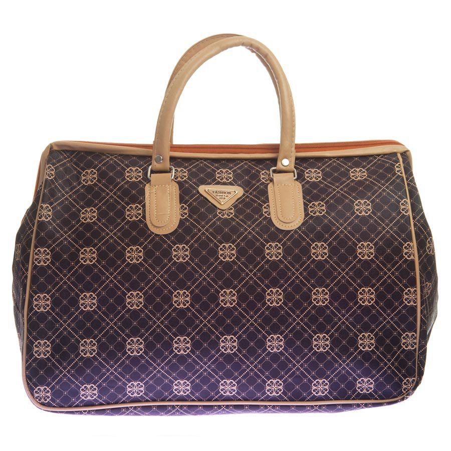 Aliado Brown Faux Leather Jhola