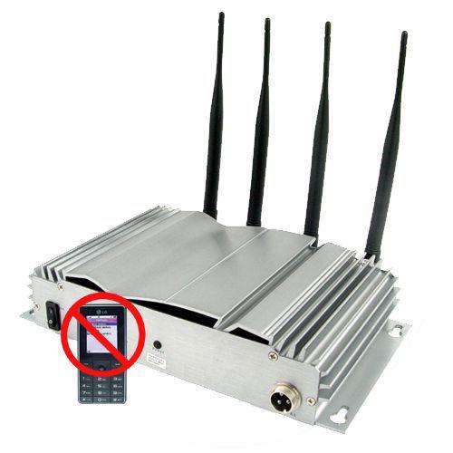 Toqon 4 Band GSM 3G CDMA Mobile Signal Jammer - Silver