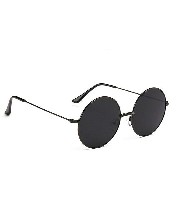 5213c4f52b Hipe Black Round Sunglasses ( BLK-Round-7 ) - Buy Hipe Black Round ...