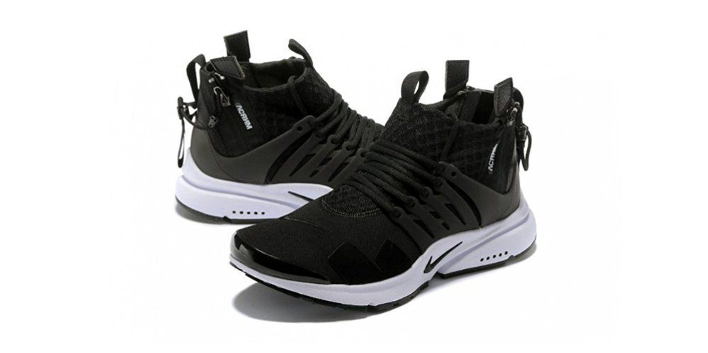 5108af9aeeedd acronym x nikelab air presto low black white shoes