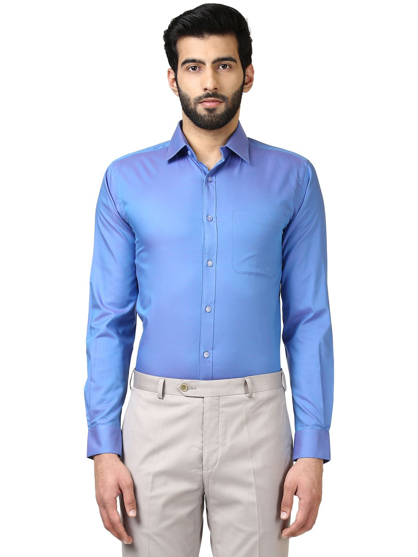 Raymond Blue Regular Fit Shirt