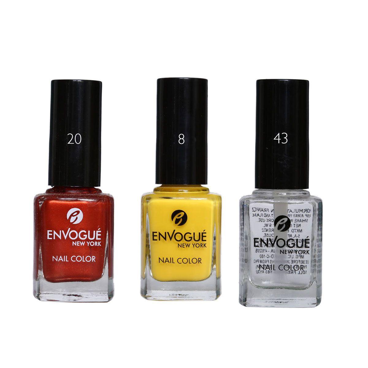 envogue Nail Polish Multicolour 9.5 ml