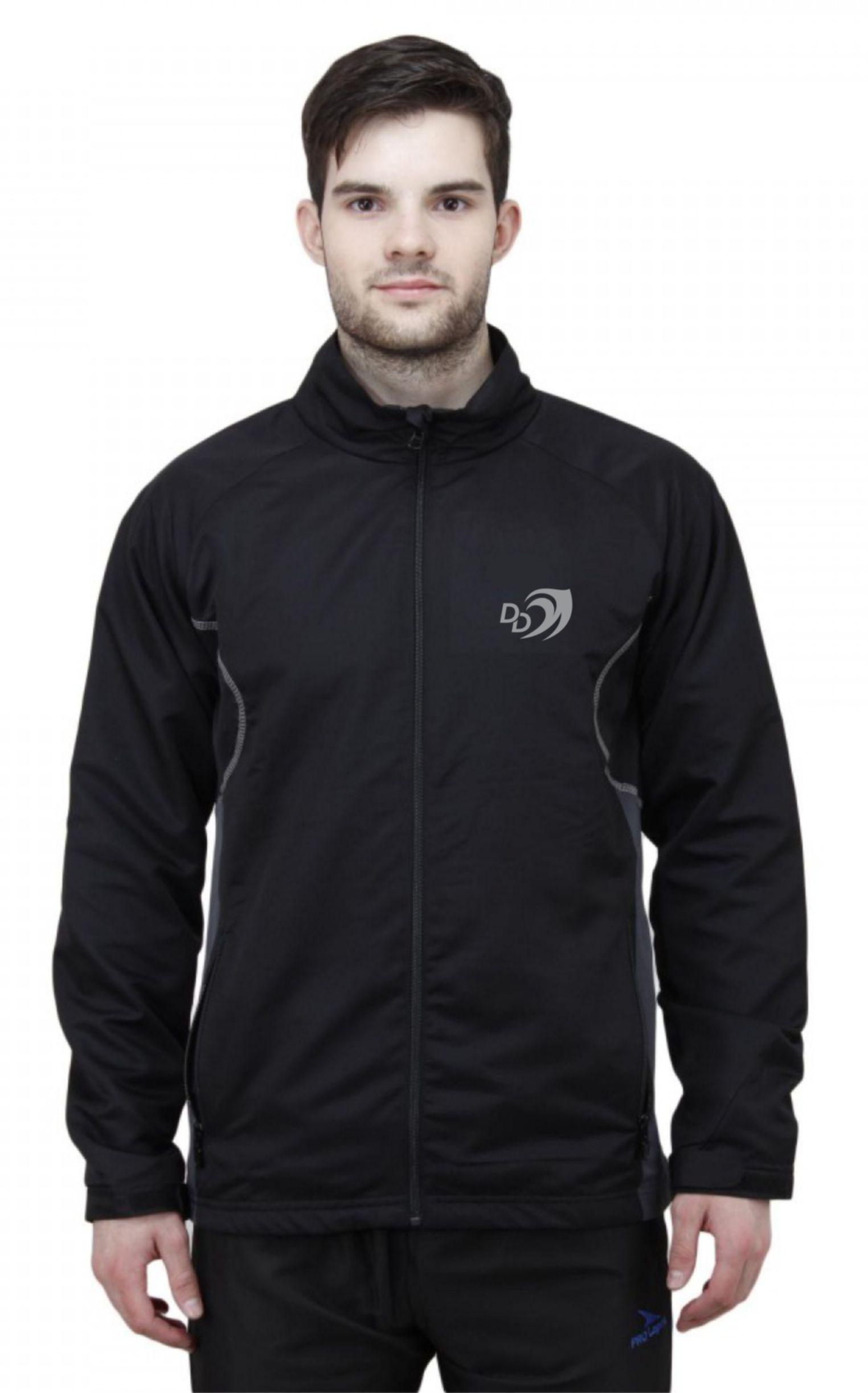 Delhi Daredevils Black Casual Jacket
