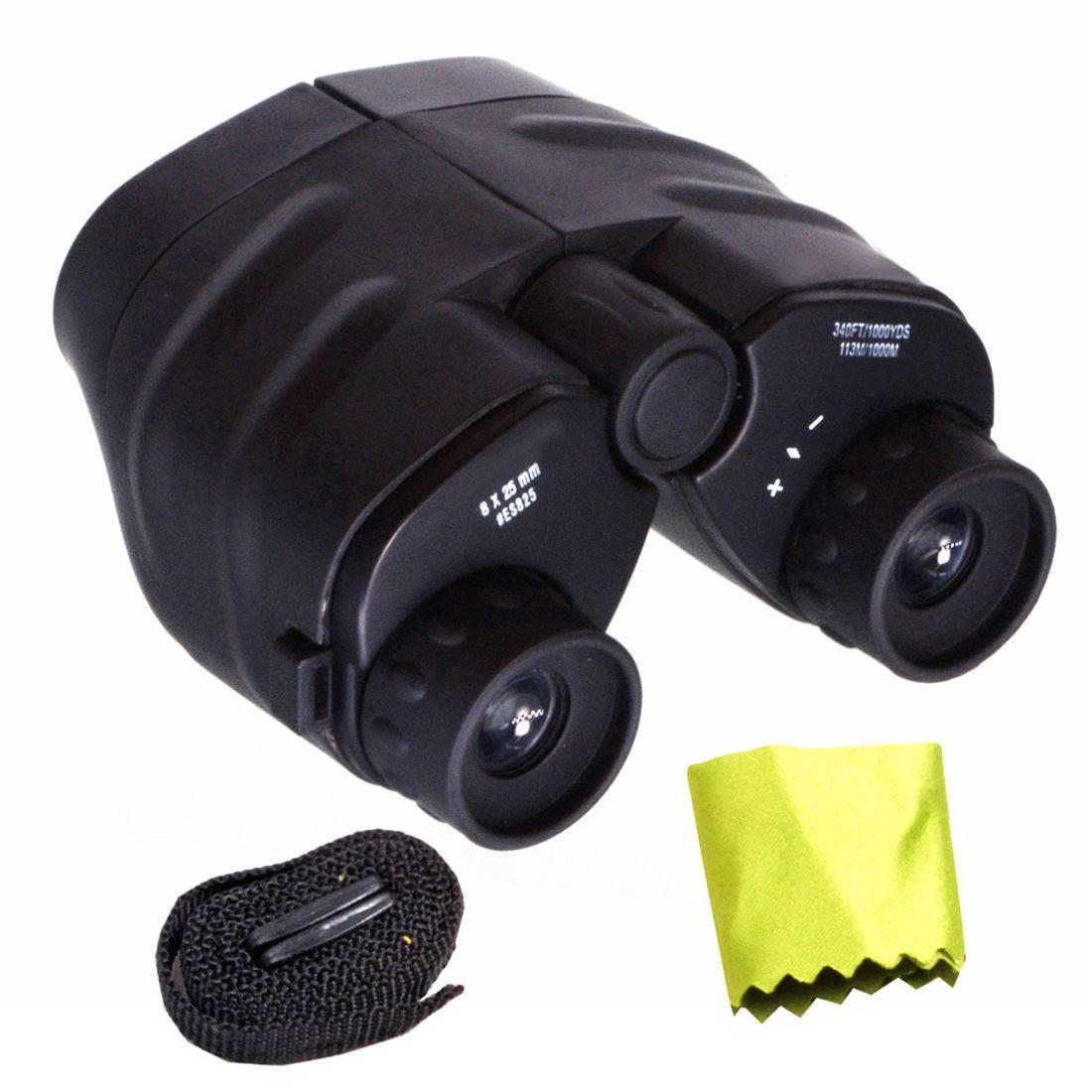 Jm Waterproof 8x25 Zoom 25x Prism Binocular Telescope Monocular With Pouch Binocular