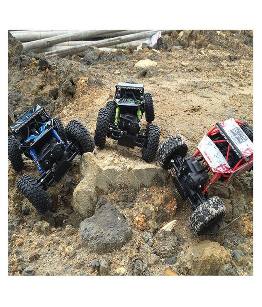 rock crawler 4wd 2 4 ghz 4x4 rally car rc monster truck buy rh snapdeal com