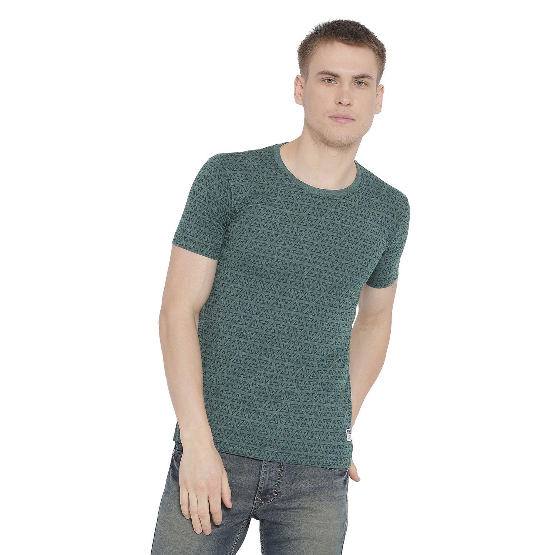 Duke Green Round T-Shirt
