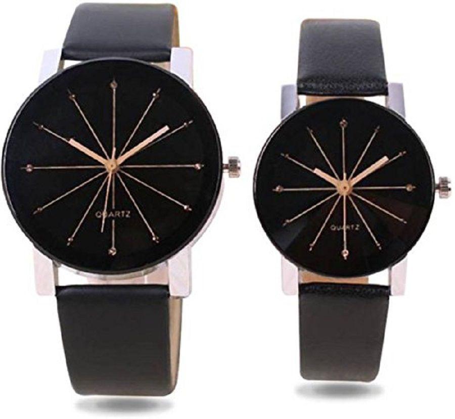 4289a5167e Anjani stylish couple watch diamond shape glass combo of 2 for men and  women watches Price in India: Buy Anjani stylish couple watch diamond shape  glass ...