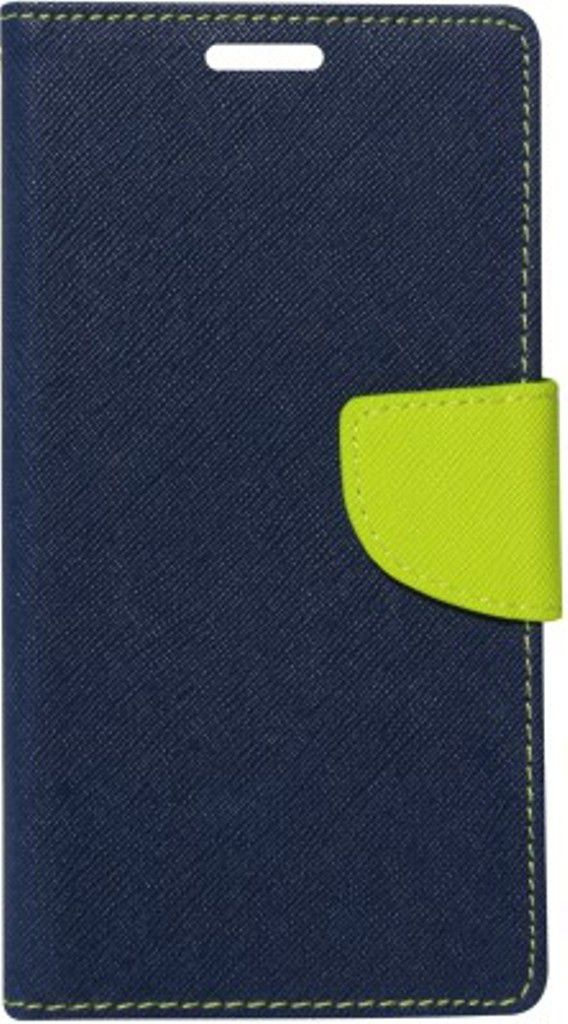 Samsung Galaxy S4 Mini Flip Cover by Kosher Traders - Blue