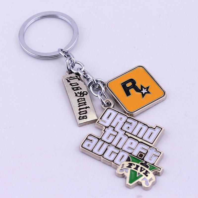 Wowobjects Grand Theft Auto 5 Key Chain