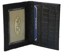 Czar Enterprises Flap Black Card Holder