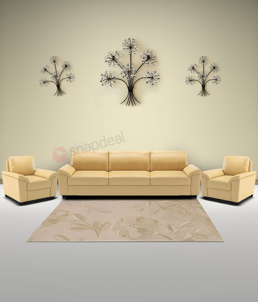 dolphin oxford leatherette 3 1 1 sofa set buy dolphin oxford rh snapdeal com