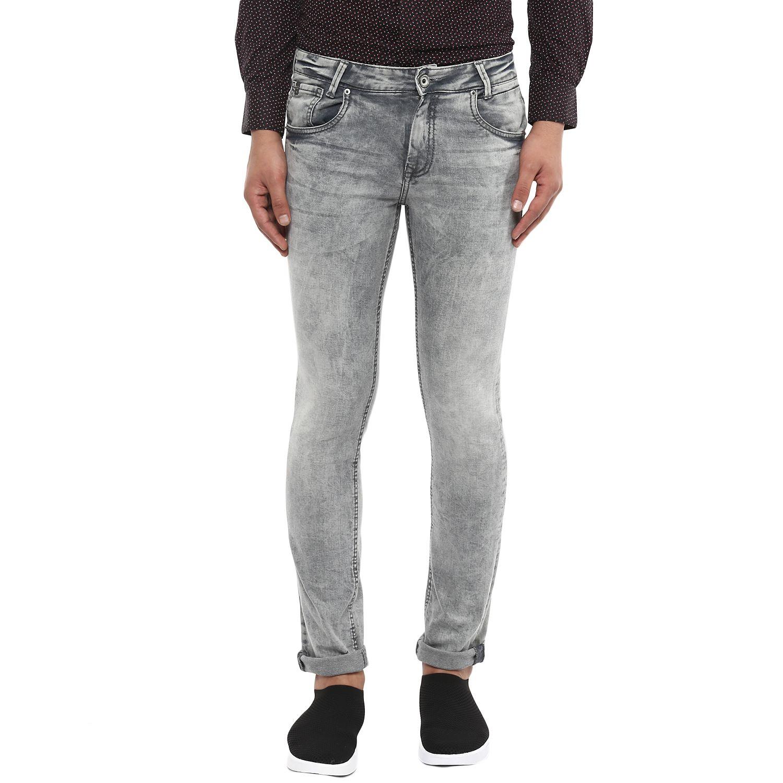 Mufti Grey Skinny Jeans