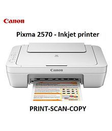 Canon PIXMA MG2570 Multi function (Print,Scan,Copy) All in One Inkjet Printer