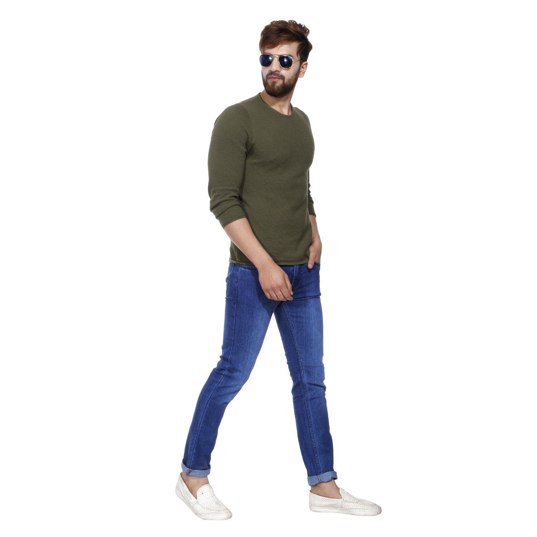 Jinjlr Blue Slim Jeans