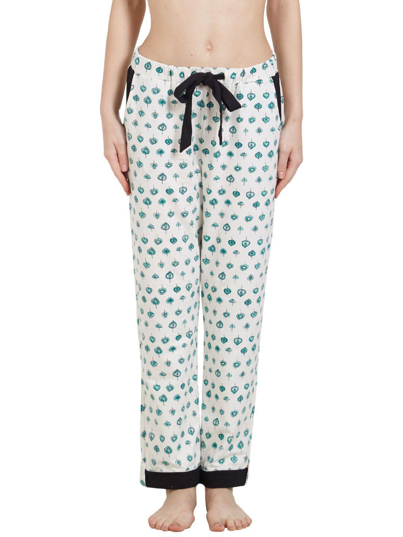 Mystere Paris Cotton Pajamas - White