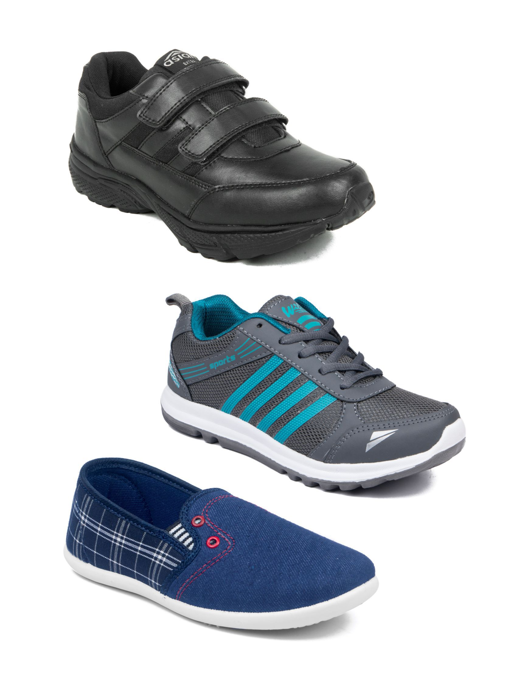 41bfbba2cd1c ASIAN KIDS SHOE COMBO Price in India- Buy ASIAN KIDS SHOE COMBO Online at  Snapdeal