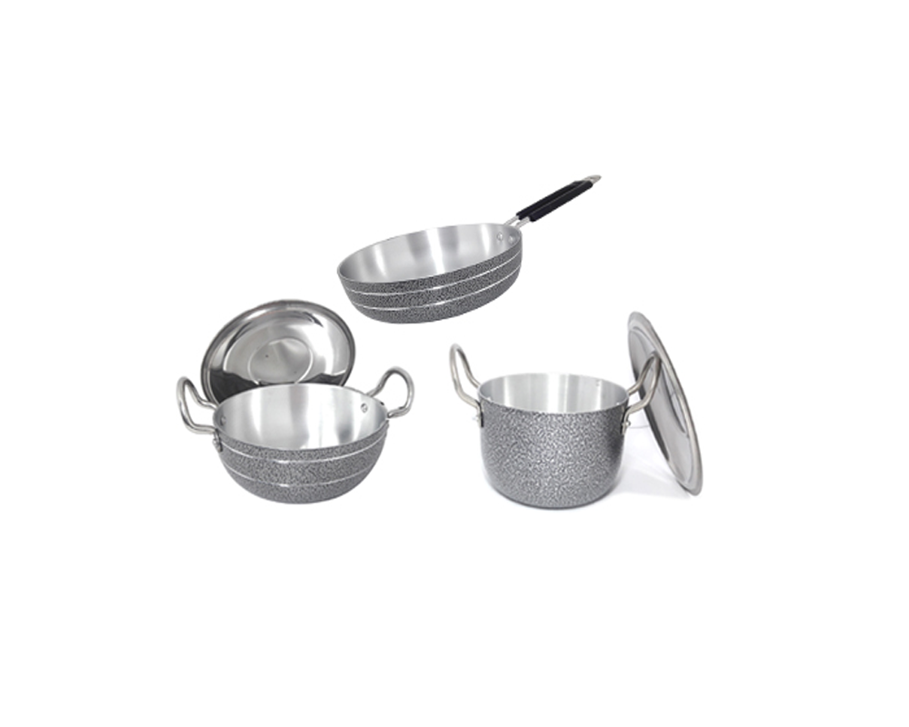 bartan hub 3 Piece Cookware Set
