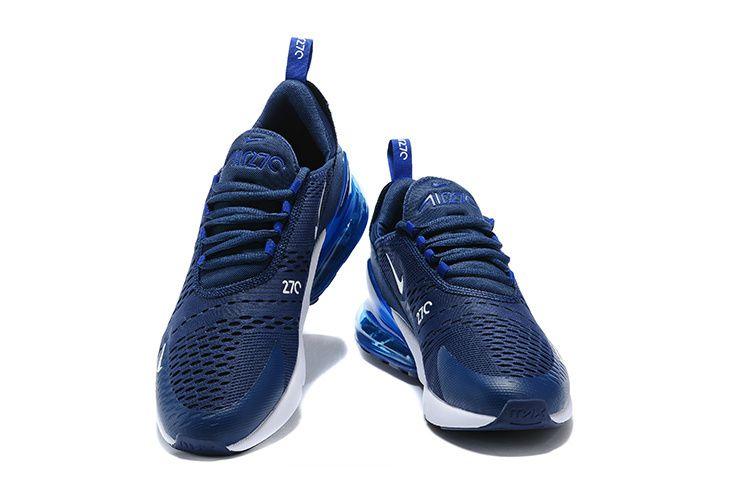 Nike Flyknit Midnight Navy Blue Running Shoes
