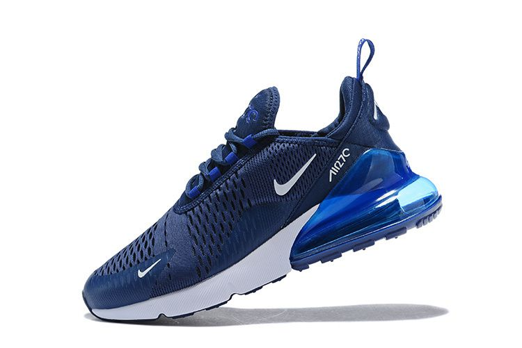 b34f90bba95 NIKE AIR 270 Flyknit Midnight Navy Blue Running Shoes - Buy NIKE AIR 270  Flyknit Midnight Navy Blue Running Shoes Online at Best Prices in India on  Snapdeal