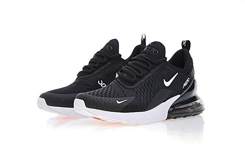 size 40 7314d 09472 Nike Air Max 270 Black Running Shoes