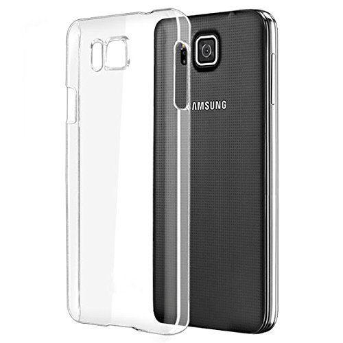 Samsung Galaxy Alpha Soft Silicon Cases SPARXON - Transparent