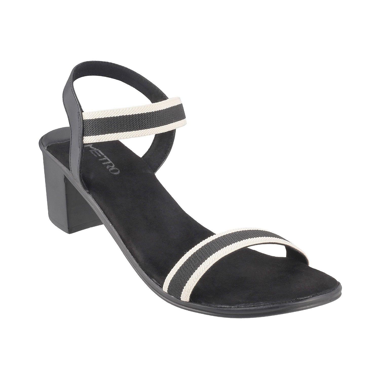 METRO BLACK Block Heels