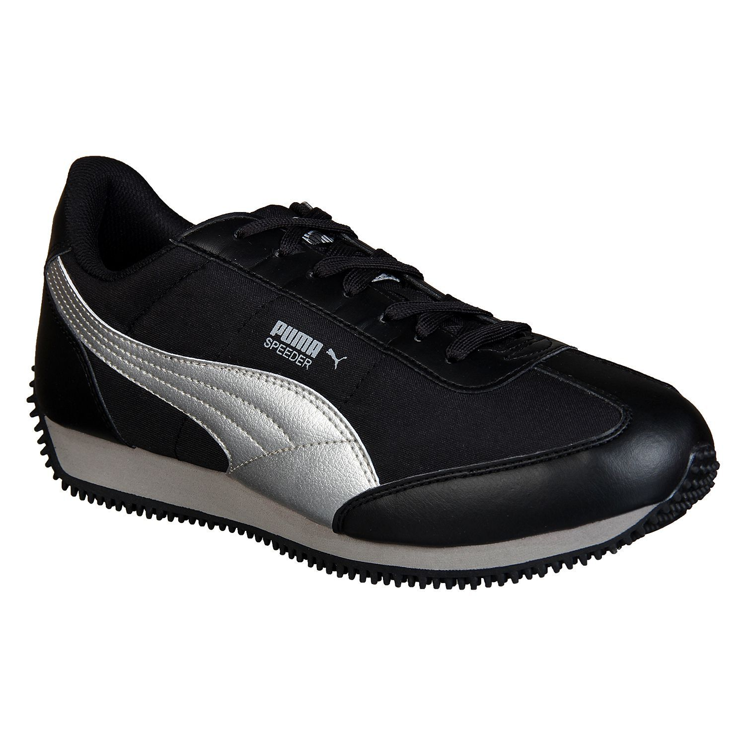 2a2c7acda78bda Puma Speeder Tetron II Ind. Black Running Shoes - Buy Puma Speeder Tetron  II Ind. Black Running Shoes Online at Best Prices in India on Snapdeal