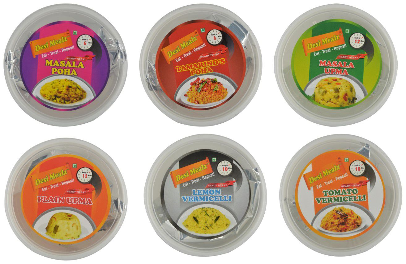 Desi Mealz Ready To Eat Breakfast 600 gm: Buy Desi Mealz