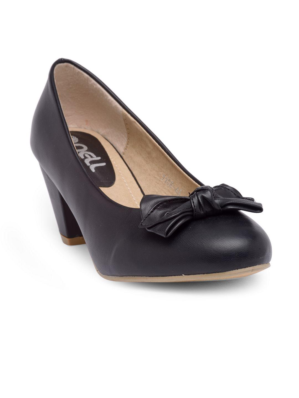 NELL Black Kitten Heels