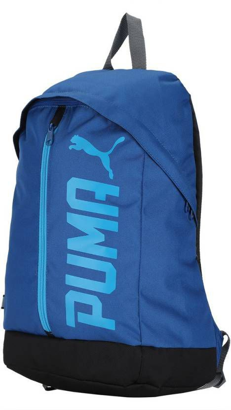 Puma Blue Pioneer II Canvas College Bags Backpack-20 Ltrs - Buy Puma ... 9b81ceaf2e505