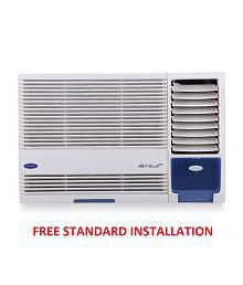 Carrier 1 Ton 3 Star Estrella 3S R410 A Window Air Conditioner White(2016-17 BEE Rating) Free Standard Installation
