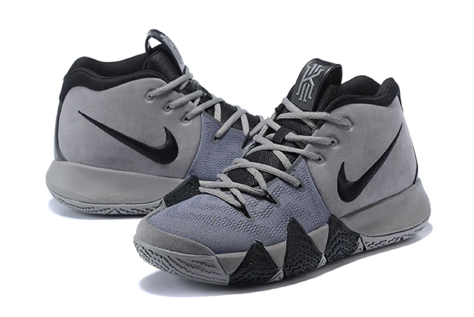 cheap for discount 88a5b fda28 Nike Kyrie 4 Wolf Gray Basketball Shoes - Buy Nike Kyrie 4 Wolf Gray  Basketball Shoes Online at Best Prices in India on Snapdeal