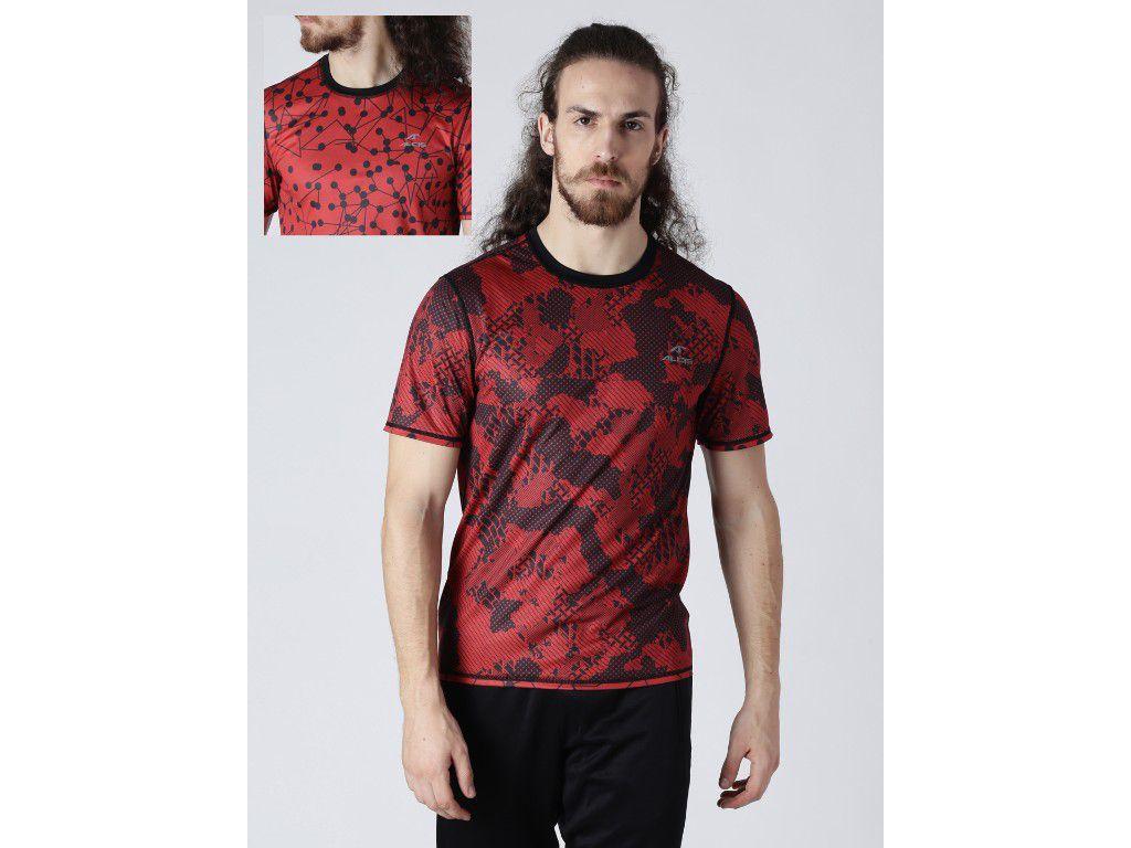Alcis Mens Printed Reversible T-Shirt