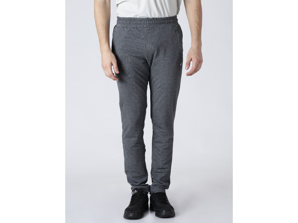 Alcis Mens Solid Grey Trackpant