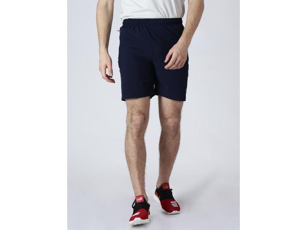 Alcis Mens Solid Navy Shorts