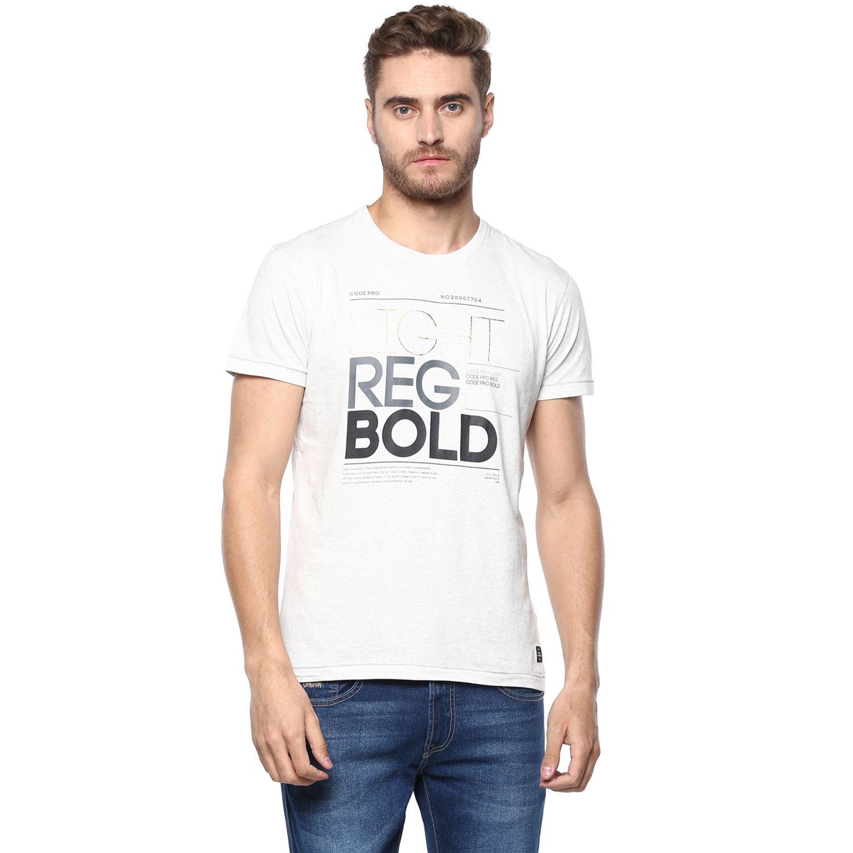 Octave Grey Round T-Shirt