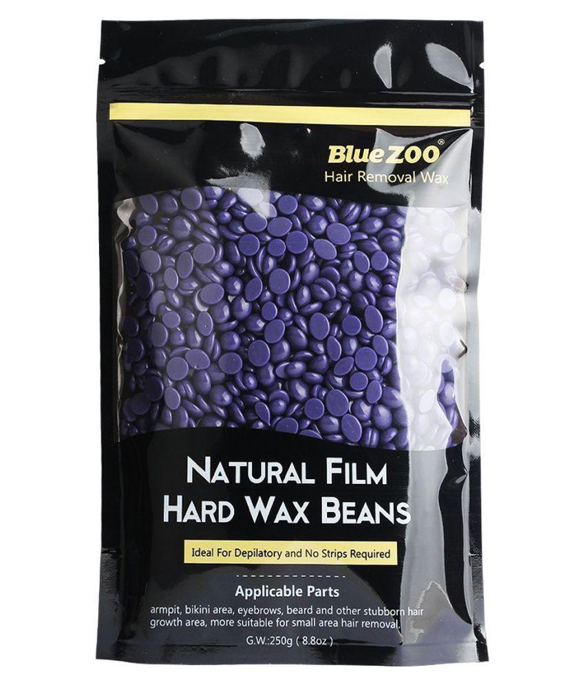 Bluezoo DMA World Hot Film Hard Wax Beans Depilatory Hot Wax for Brazilian  Bikini Hair Removal 100 gm