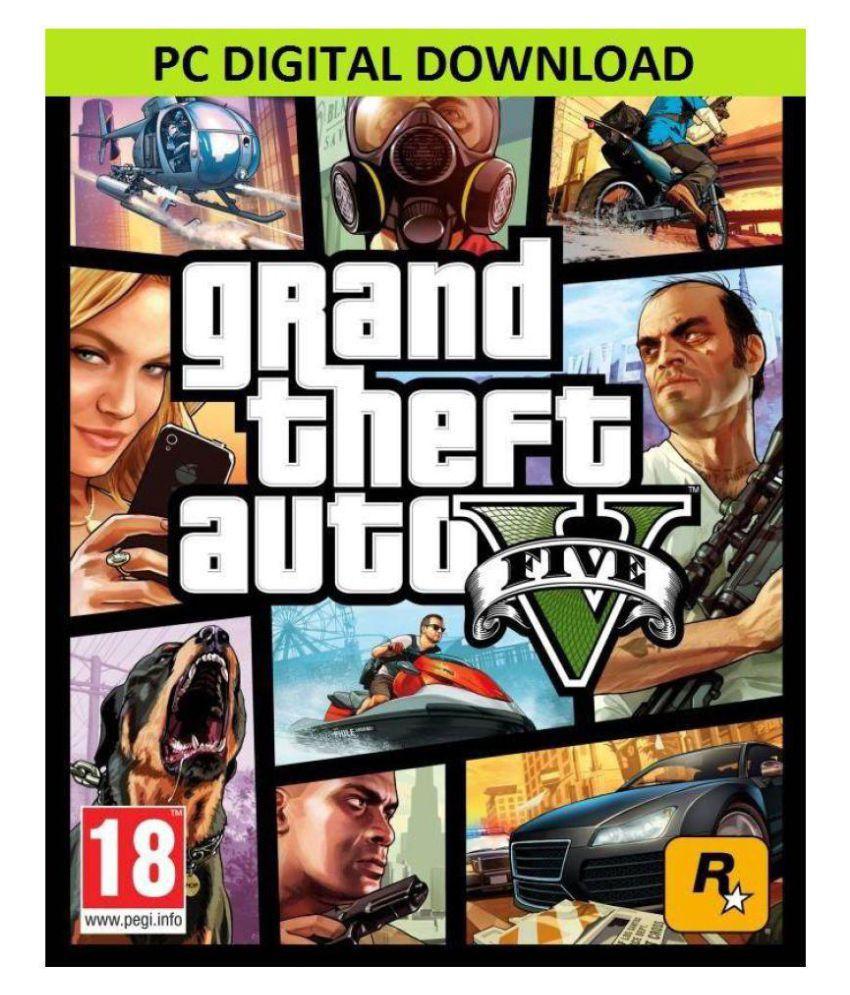 Grand Theft Auto V (GTA 5) Online Savekeys ( PC Game )Delivery via email