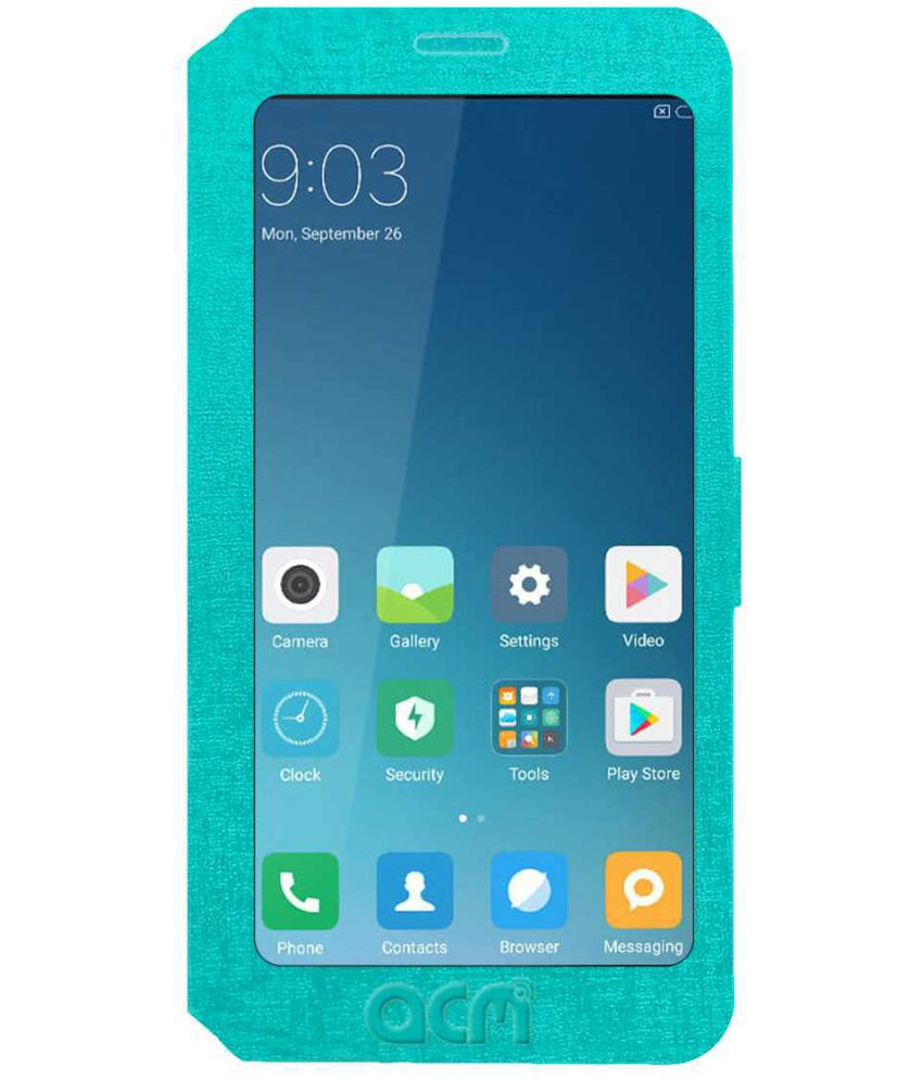 sports shoes 110df eaa0f Nubia Z11 Mini S Flip Cover by ACM - Blue