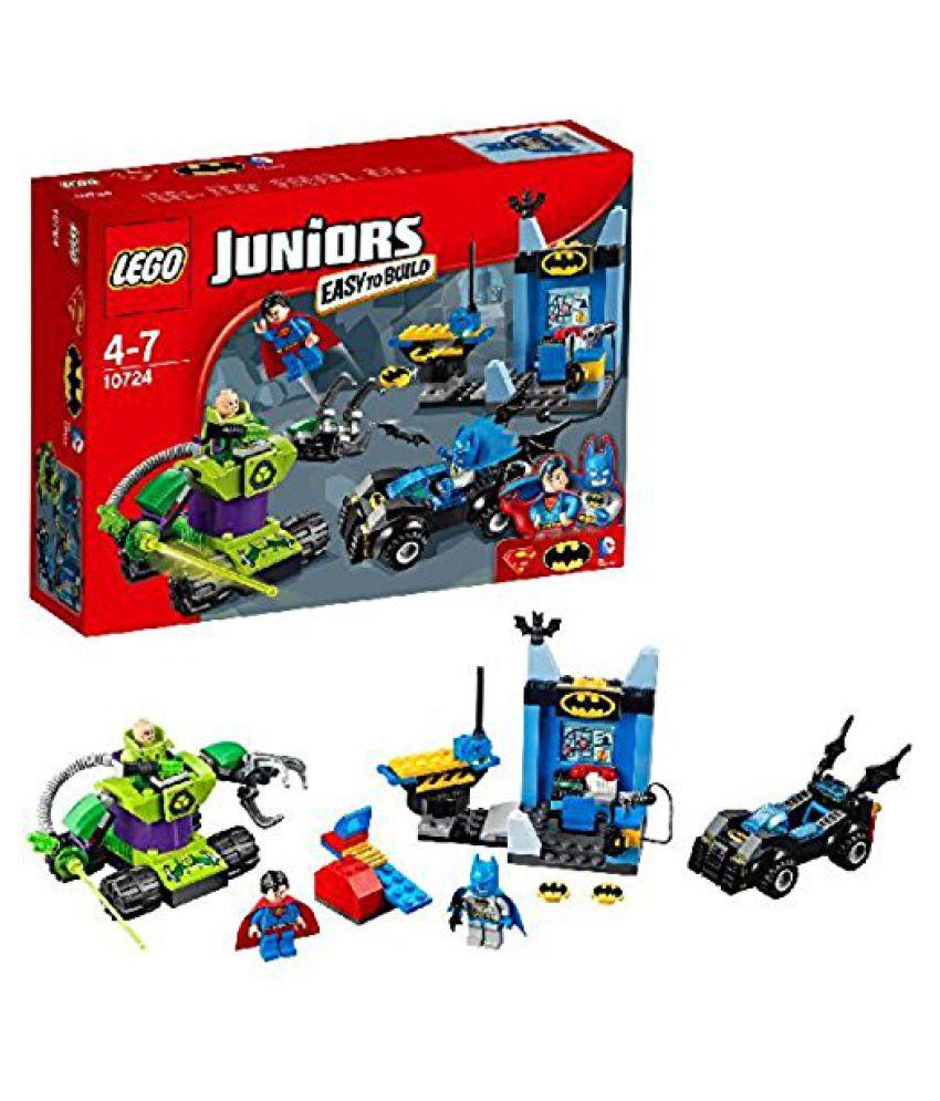 lego lego junior batman superman vs rex luther 10724 buy lego rh snapdeal com